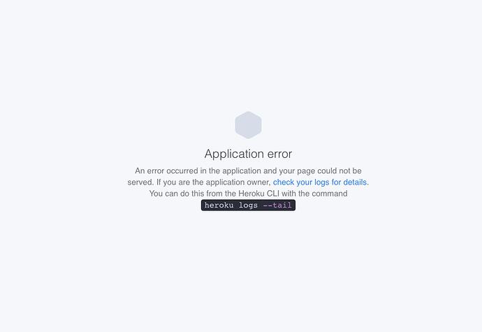 app error