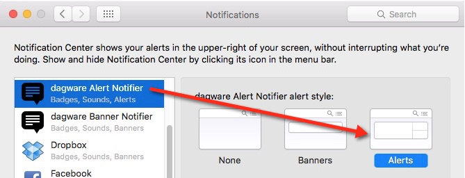 Show Notification Message - Plug In Actions - Keyboard