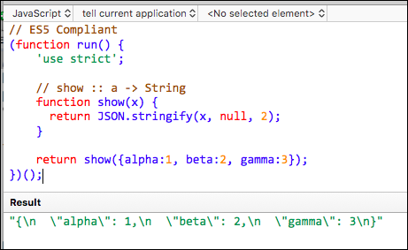 TIP: How to Get Readable Format from JSON stringify() - Tips