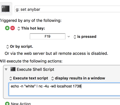 Execute Shell Script doesn't work for me - Questions