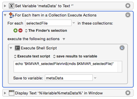 File metadata (read, write etc) - Questions & Suggestions