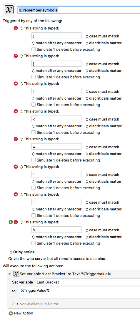 Match Symbols Brackets With One Hotkey Questions Suggestions
