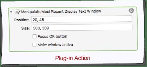 Manipulate KM's Display Text Window - Macro Library