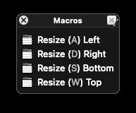 Resizer Mode Palette