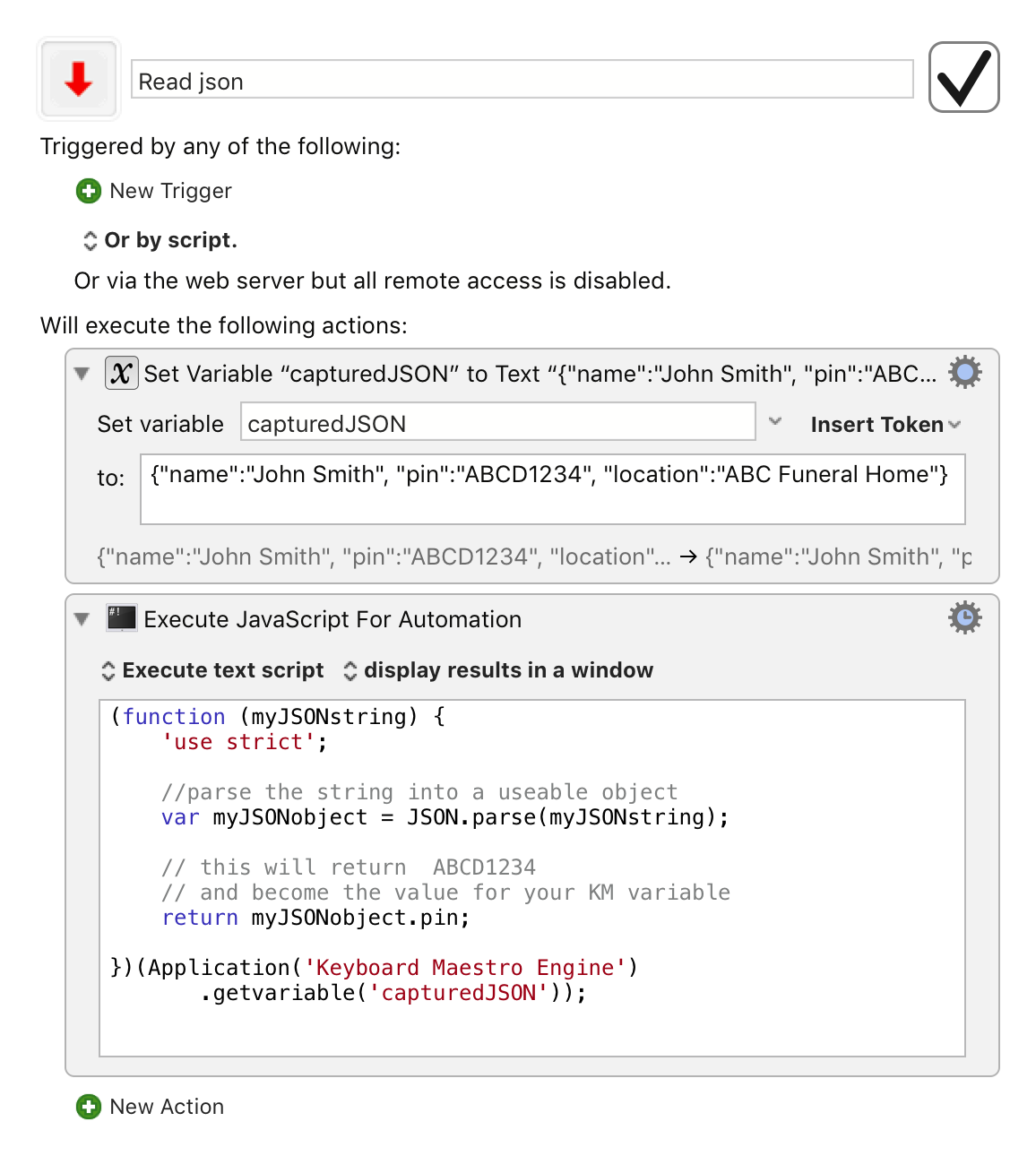 Convert JSON String Variable to JSON object using JXA