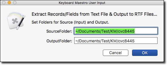 How Do I Extract Records/Fields from Text File & Use to
