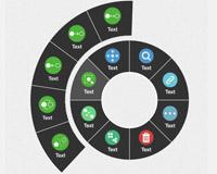 javascript-css-circular-menu