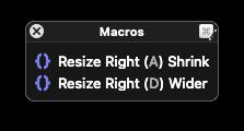 Resizer Right Palette