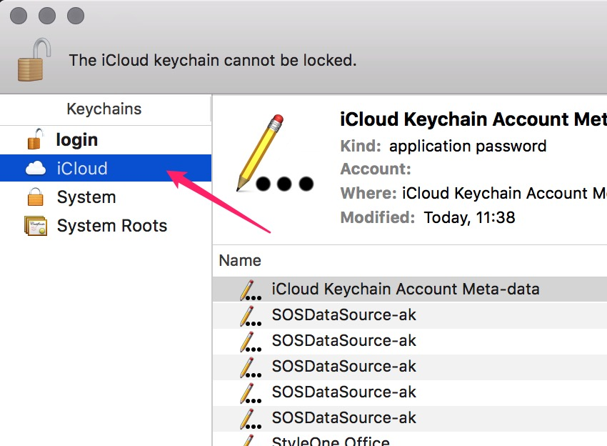 How to retrieve password from