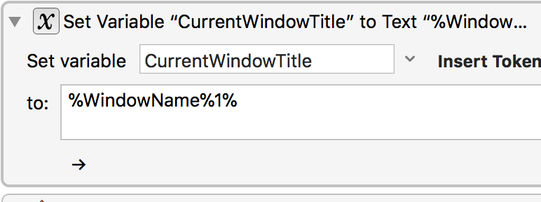 CurrentWindowTitle is not identified if the window is in